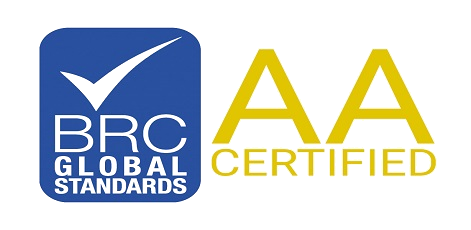 BRC Global Standards AA Certified