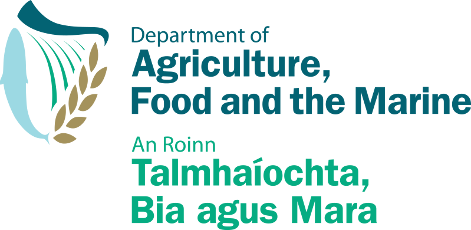 Department of Agriculture, Food and the Marine Logo
